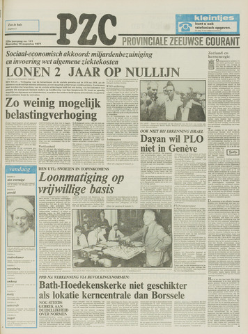 Provinciale Zeeuwse Courant 1977-08-10
