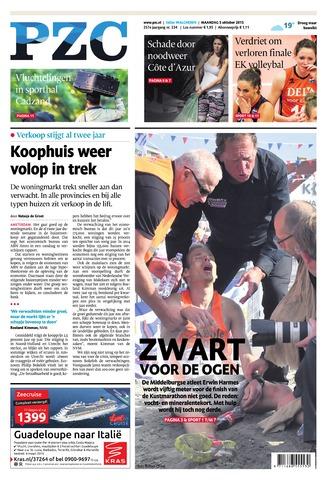 Provinciale Zeeuwse Courant 2015-10-05