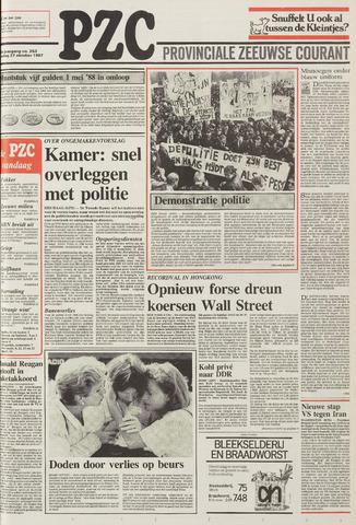 Provinciale Zeeuwse Courant 1987-10-27