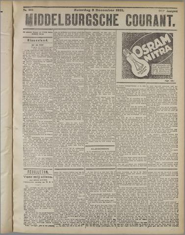 Middelburgsche Courant 1921-12-03