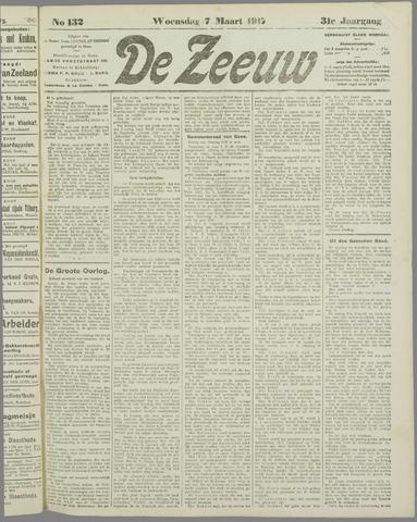 De Zeeuw. Christelijk-historisch nieuwsblad voor Zeeland 1917-03-07