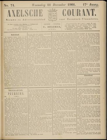 Axelsche Courant 1901-12-11