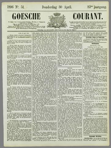 Goessche Courant 1896-04-30
