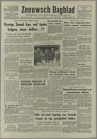 Zeeuwsch Dagblad 1957-02-04
