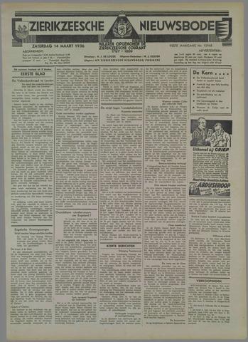 Zierikzeesche Nieuwsbode 1936-03-14