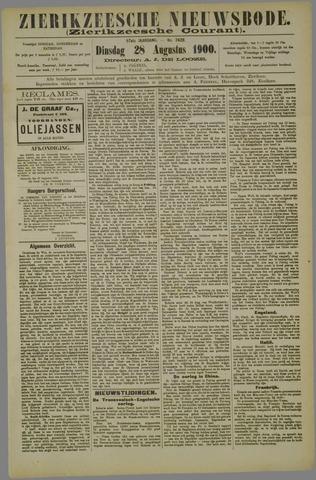 Zierikzeesche Nieuwsbode 1900-08-28