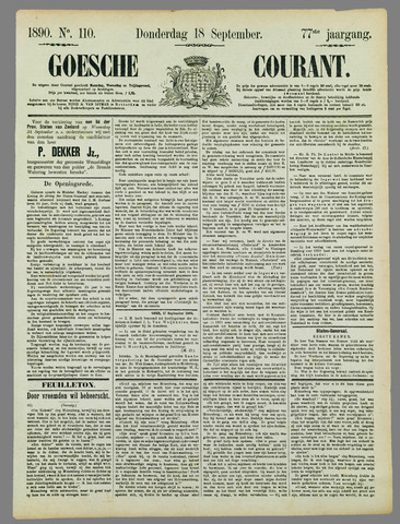 Goessche Courant 1890-09-18