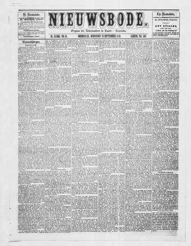 Sheboygan Nieuwsbode 1859-09-28
