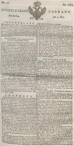 Middelburgsche Courant 1771-05-09