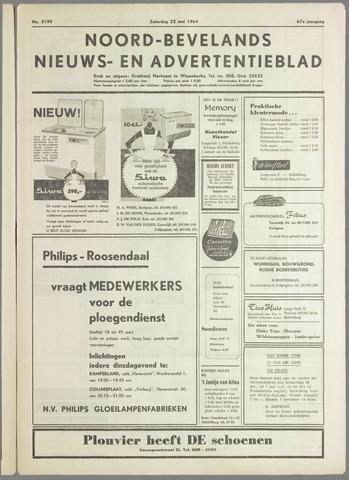Noord-Bevelands Nieuws- en advertentieblad 1964-05-23