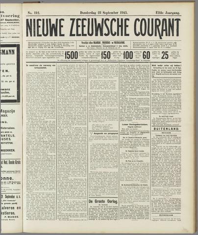 Nieuwe Zeeuwsche Courant 1915-09-23