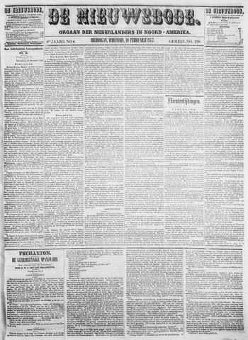Sheboygan Nieuwsbode 1857-02-10
