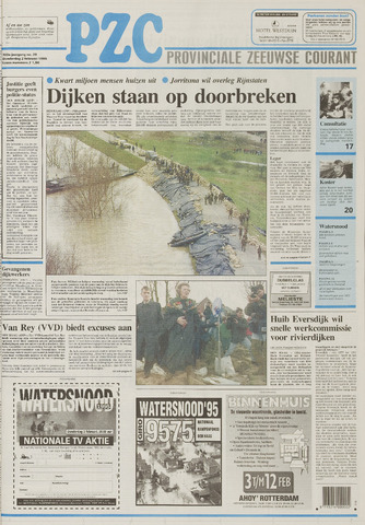 Provinciale Zeeuwse Courant 1995-02-02