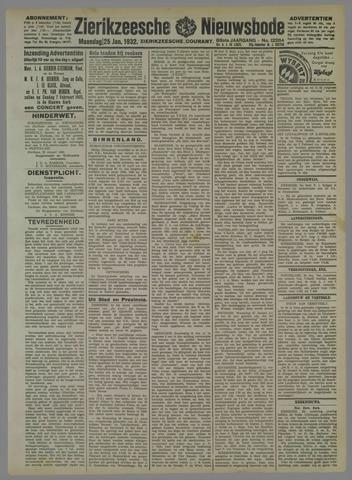 Zierikzeesche Nieuwsbode 1932-01-25