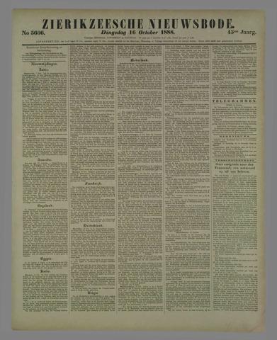 Zierikzeesche Nieuwsbode 1888-10-16