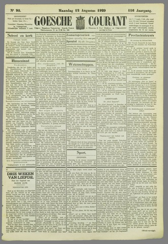 Goessche Courant 1929-08-12