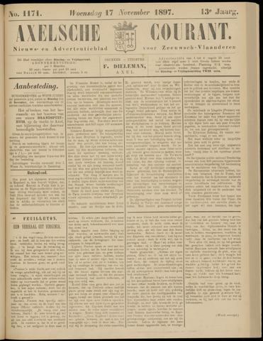 Axelsche Courant 1897-11-17