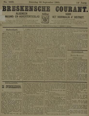 Breskensche Courant 1905-09-30