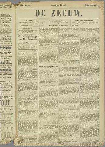 De Zeeuw. Christelijk-historisch nieuwsblad voor Zeeland 1891-06-18