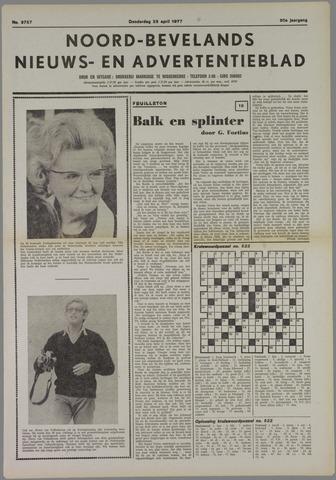 Noord-Bevelands Nieuws- en advertentieblad 1977-04-28