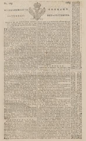 Middelburgsche Courant 1785-09-24