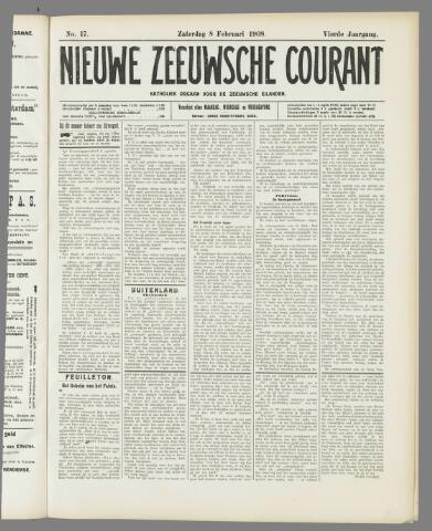 Nieuwe Zeeuwsche Courant 1908-02-08