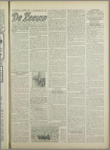 De Zeeuw. Christelijk-historisch nieuwsblad voor Zeeland 1943-04-21