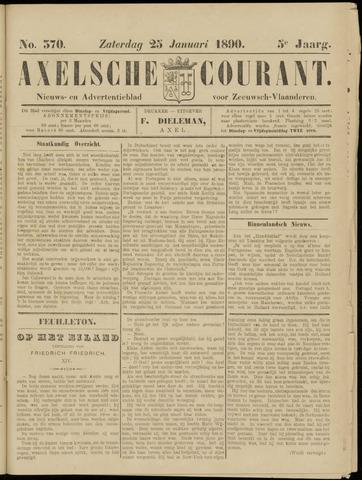 Axelsche Courant 1890-01-25