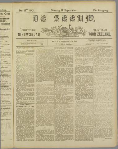 De Zeeuw. Christelijk-historisch nieuwsblad voor Zeeland 1901-09-17