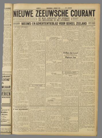 Nieuwe Zeeuwsche Courant 1933-01-05
