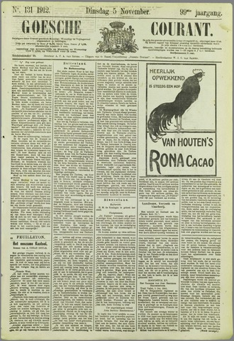 Goessche Courant 1912-11-05