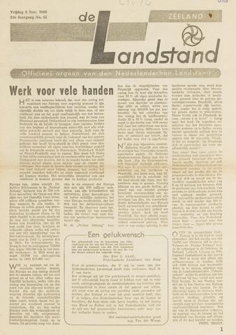 De landstand in Zeeland, geïllustreerd weekblad. 1943-11-05