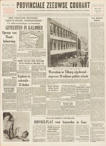 Provinciale Zeeuwse Courant 1965-08-11