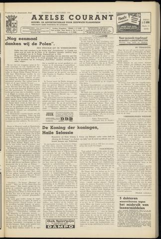 Axelsche Courant 1954-10-23