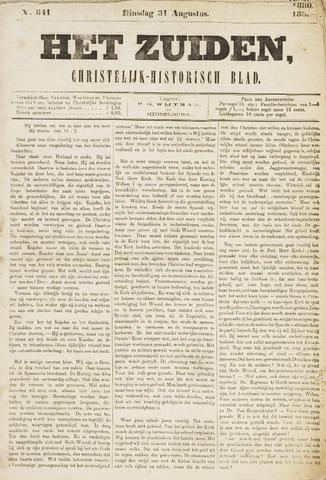 Het Zuiden, Christelijk-historisch blad 1880-08-31