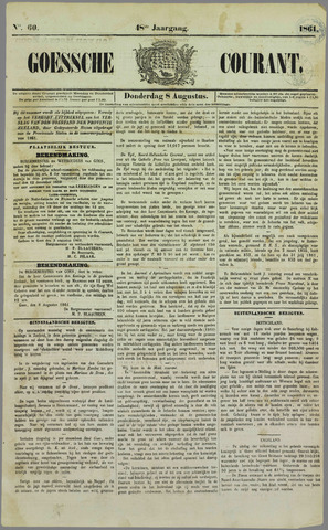 Goessche Courant 1861-08-08