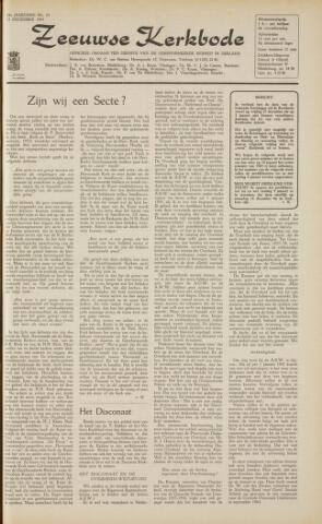 Zeeuwsche kerkbode, weekblad gewijd aan de belangen der gereformeerde kerken/ Zeeuwsch kerkblad 1963-12-13