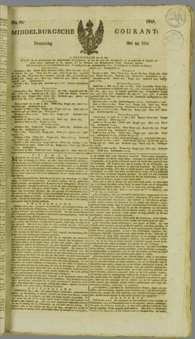 Middelburgsche Courant 1817-05-22