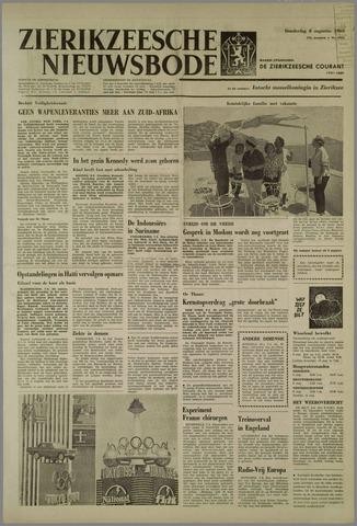Zierikzeesche Nieuwsbode 1963-08-08