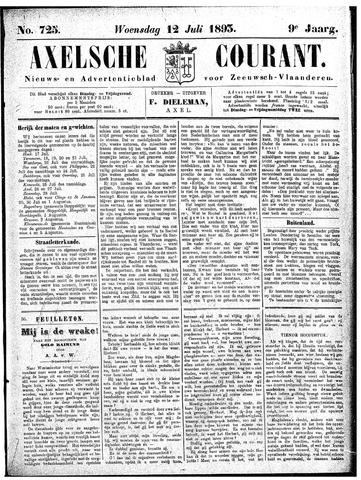 Axelsche Courant 1893-07-12