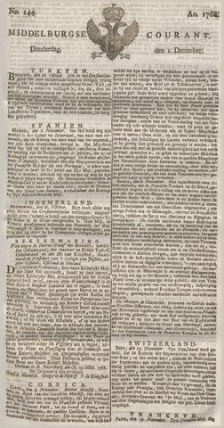 Middelburgsche Courant 1768-12-01