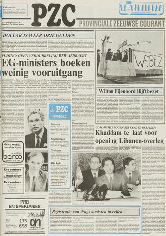 Provinciale Zeeuwse Courant 1984-03-13