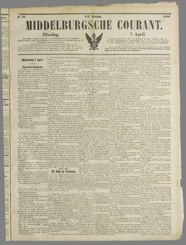 Middelburgsche Courant 1908-04-07