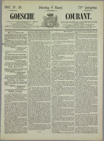 Goessche Courant 1887-03-08