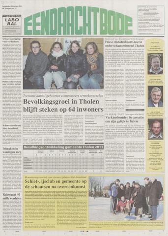 Eendrachtbode (1945-heden)/Mededeelingenblad voor het eiland Tholen (1944/45) 2012-02-09