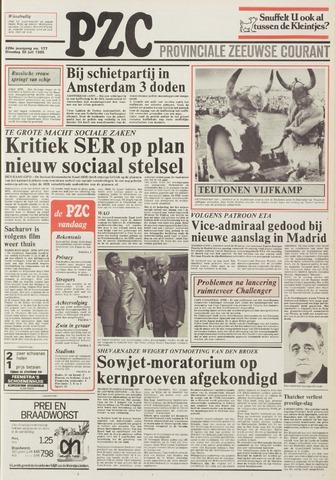 Provinciale Zeeuwse Courant 1985-07-30
