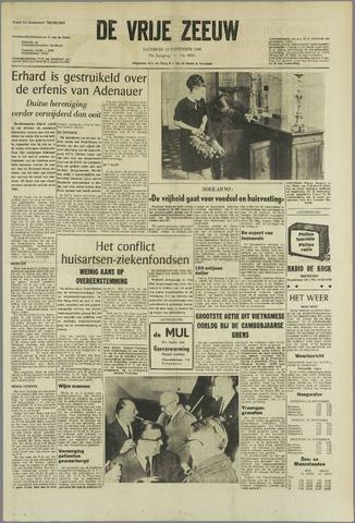 de Vrije Zeeuw 1966-11-12