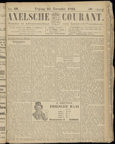 Axelsche Courant 1922-11-24