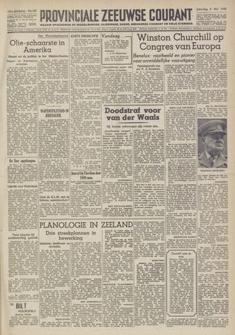 Provinciale Zeeuwse Courant 1948-05-08