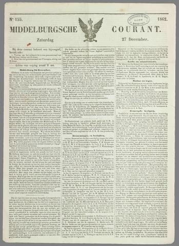 Middelburgsche Courant 1862-12-27